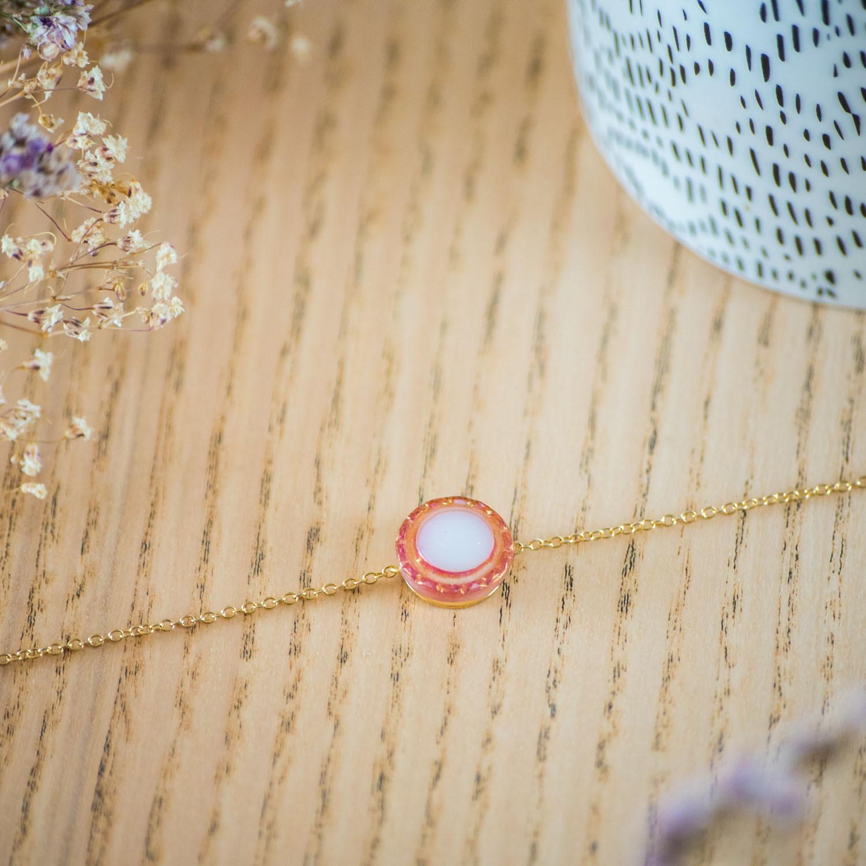 Assuna – Bracelet simple chaîne Lise – inspiration vintage