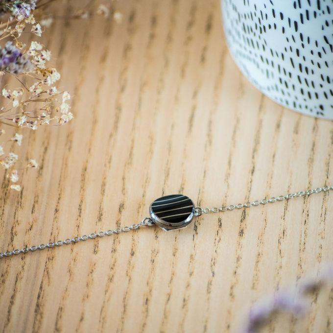 Assuna - Bracelet simple chaîne Louise - inspiration vintage