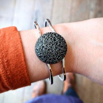 Bracelet vintage Esmée argenté