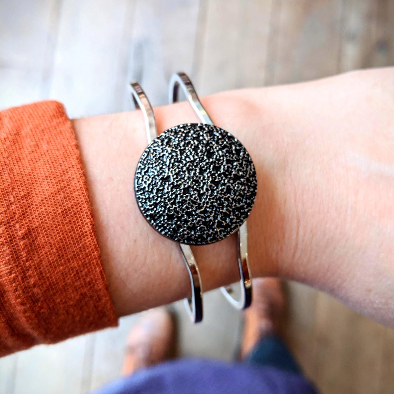 Bracelet vintage Esmée argenté – look