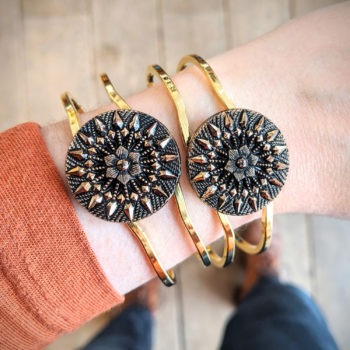 Bracelet vintage Inès doré