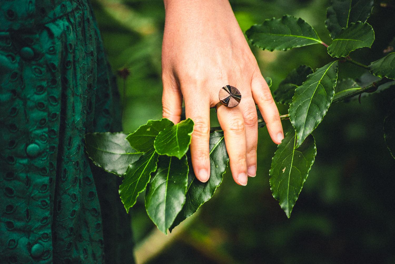 Petite bague Angèle bronze – Look