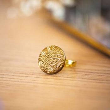 Petite bague Garance dorée