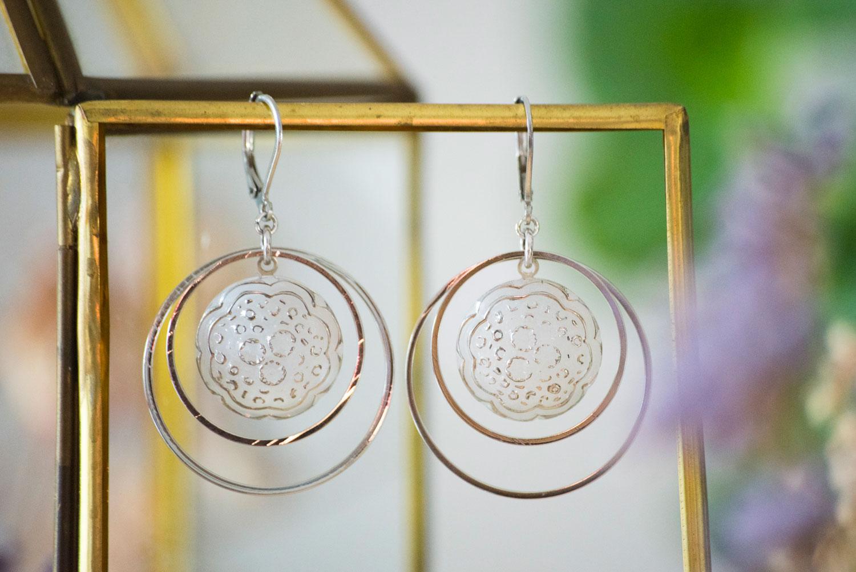 Assuna – Grandes boucles Lunare Ombeline – inspiration vintage