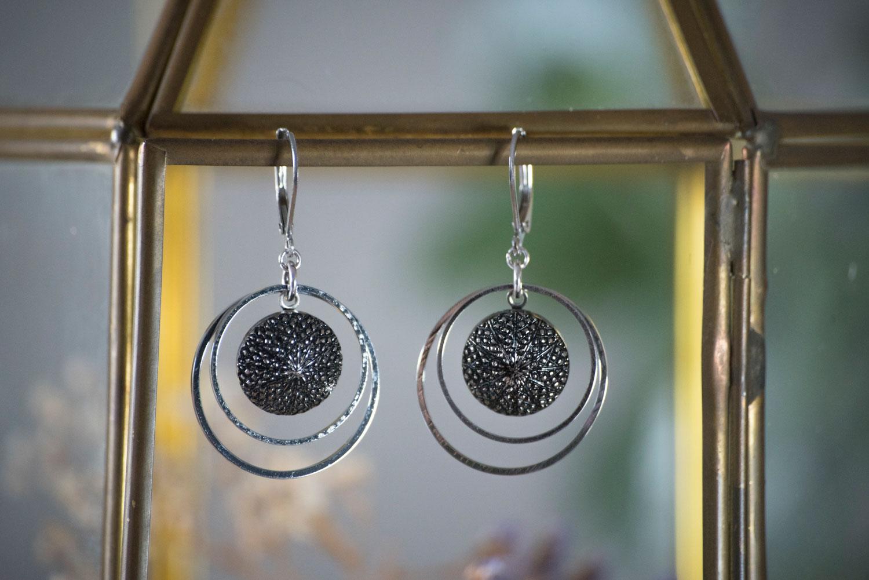 Assuna – Petites boucles Lunare Victoire – inspiration vintage