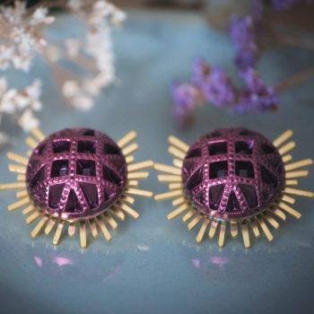 Boucles Solare Reine rose