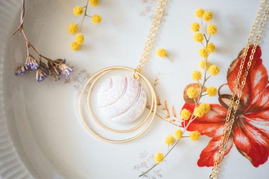 Assuna - Sautoir Lunare Diane- inspiration vintage