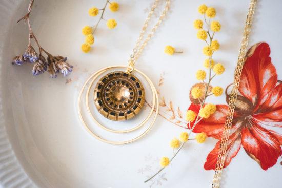 Assuna - Sautoir Lunare Mathilde - inspiration vintage